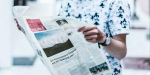 Met je commerciële boodschap in de krant? Zo pak je het aan - kollektif media pr public relations